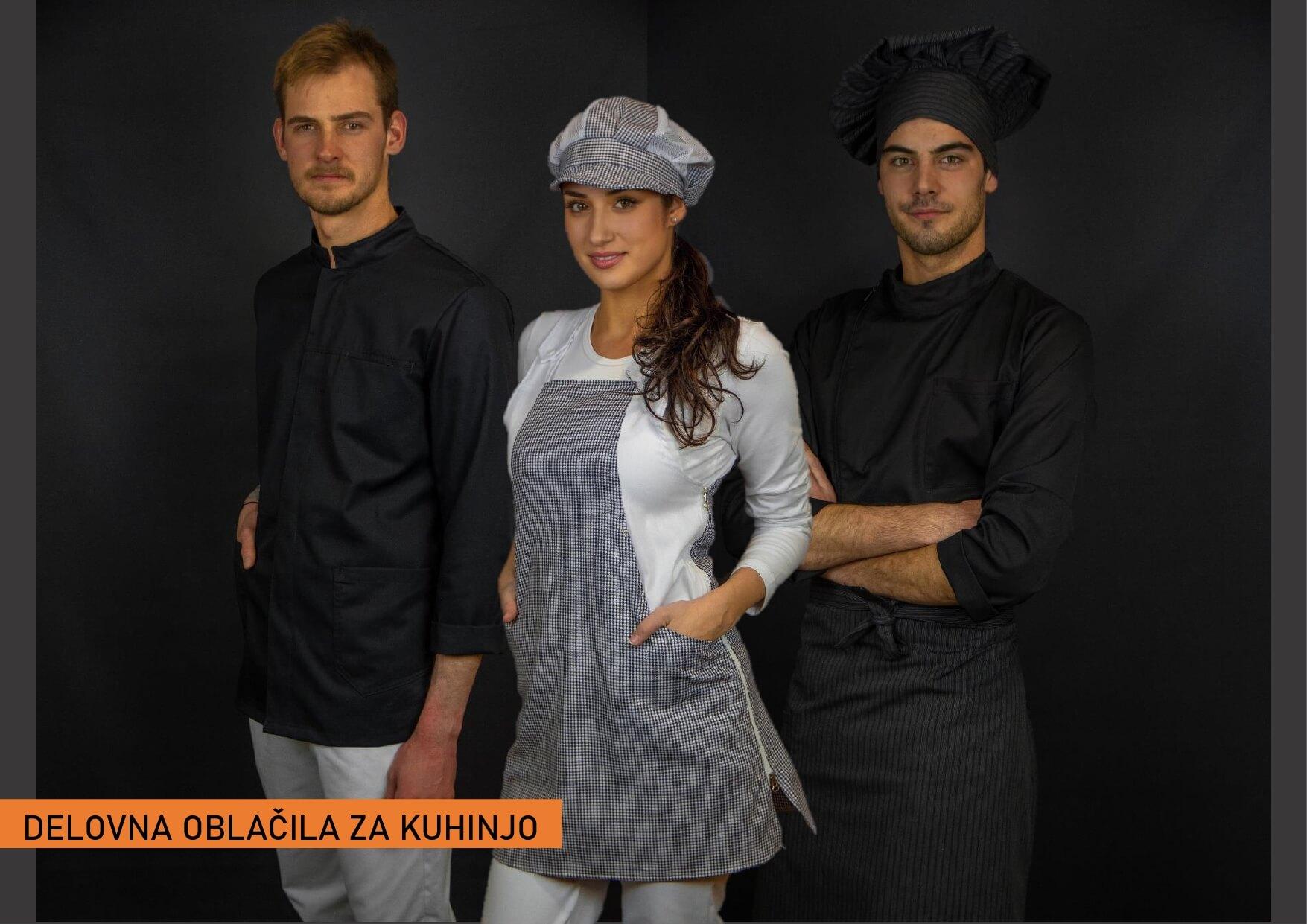 Delovna oblačila za kuhinjo