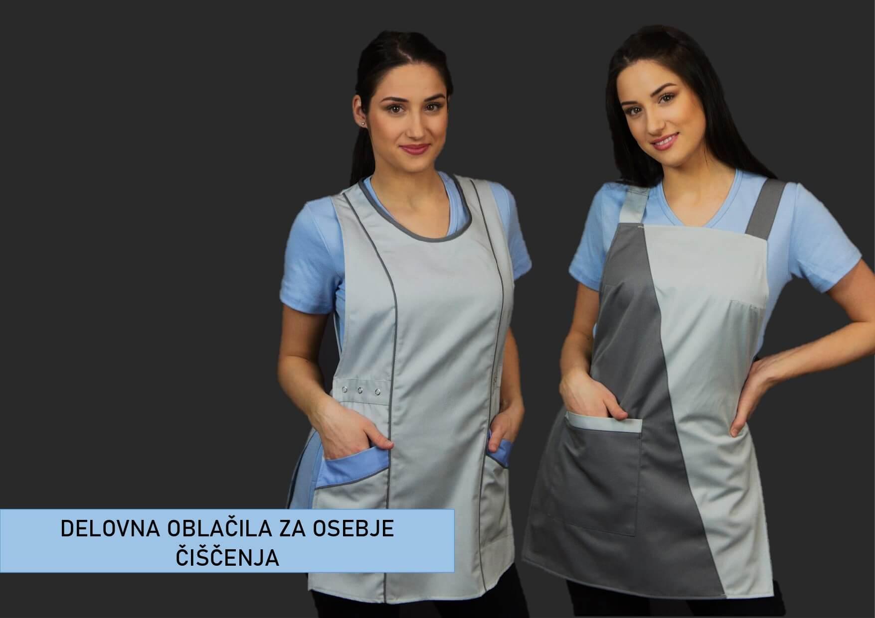 Delovna oblačila za osebje čiščenja